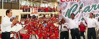 RICARDO AGUILAR TOMO PROTESTA A LOS REPRESENTANTES DE CASILLA DE MARCO CALZADA